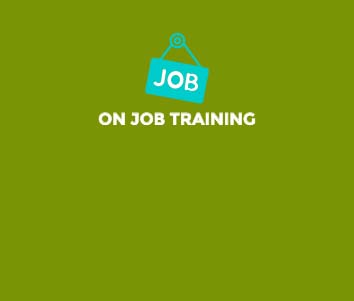 on job training training