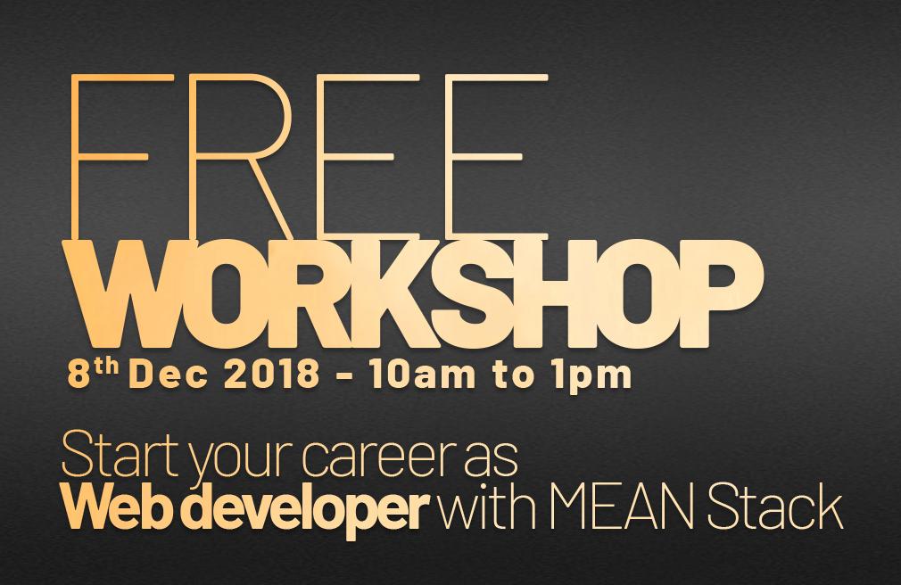 MEAN Stack Development Workshop-08/12/2018