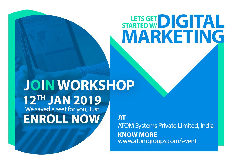 Digital Marketing Workshop-12/01/2019